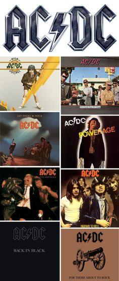 AC/DC - had  all of these on casette