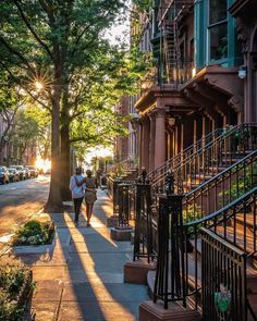 Sunset in Manhattan - NYC, USA