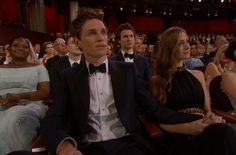Addicted to Eddie: The Oscar goes to Eddie Redmayne - 87th Academy Awards Feb 22, 2015
