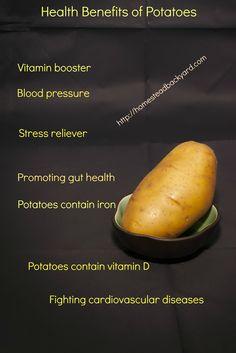 Health Benefits of Potatoes