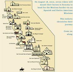 I want to visit all San Luis Obispo, Santa Barbara, San Juan Capistrano and Sonoma down! California Missions, Moving To California, California Cool, Visit California, California Dreamin', Northern California, Mission Projects, San Juan Capistrano, Teaching Time