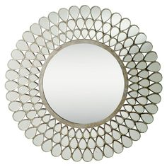 Teardrop Mirror  Over dresser option