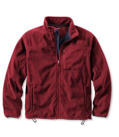 Men's Wind Challenger Fleece Jacket   Free Shipping at L.L.Bean