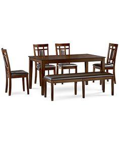 Delran 6-Piece Dining Room Furniture Set