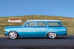 Ben Judd mixes classic and cutting-edge to create a drop=dead gorgeous Holden EH streeter that was the talk of Motorex 2017 Holden Muscle Cars, Aussie Muscle Cars, Holden Wagon, Holden Australia, Australian Cars, Car Colors, Good Old, Hot Cars, Muscles