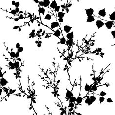 Blue Mountain Black and White Strippable Non-Woven Paper Prepasted Wallpaper