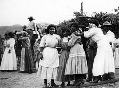 Native Americans, circa 1900.