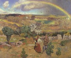 """Spring"" by Dame Laura Knight 1916-20"