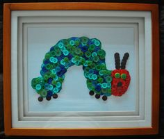 Very Hungry Catepillar Button Picture. $35.00, via Etsy.