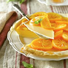 Tarta de naranja - Lecturas Grapefruit, Cantaloupe, Buffet, Food And Drink, Chocolate, Orange, Sweet, Desserts, Recipes