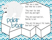 Habitat Freebies! - 4 pages of Polar Bear activities for your kiddos!