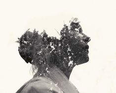 The double exposure photographs of Christoffer Relander.