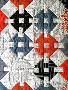 DIY: miniature quilt..