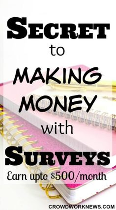 Make Money Online Surveys, Surveys For Cash, Ways To Earn Money, Earn Money From Home, Make Money Fast, Make Money Blogging, Money Tips, Paid Surveys, Make Money Doing Surveys