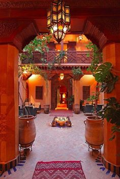 The most amazing place we've ever stayed. La Maison Arabe, riad hôtel à Marrakech Travel Honeymoon Backpack Backpacking Vacation Art Marocain, Design Marocain, Style Marocain, Moroccan Design, Moroccan Decor, Moroccan Style, Moroccan Garden, Islamic Architecture, Interior Architecture