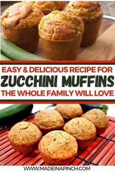 Looking for the best zucchini muffin recipe? Grab our easy and delicious zucchini muffin recipe that will quickly become a favorite healthy snack for your kids and the whole family. #zucchinirecipes #zucchinimuffins #recipes #muffinrecipes #summerrecipes #gardenrecipes
