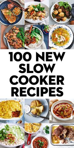 Our 100 most recent slow cooker recipes Crockpot Ideas, Crockpot Dishes, Crock Pot Slow Cooker, Crock Pot Cooking, Slow Cooker Recipes, Cooking Recipes, Freezer Meals, Easy Meals, Minute Chicken Recipe