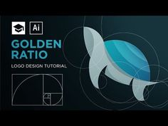 Many designers search for a good tutorial about golden ratio and how to use it in logo design that is easy to understand Logo Design Tutorial, Graphic Design Tutorials, Tool Design, Flat Design, Design Process, Adobe Illustrator Tutorials, Photoshop Illustrator, Design Websites, Design Room