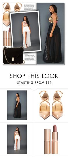 """#16"" by aida-nurkovic ❤ liked on Polyvore featuring Christian Louboutin, Charlotte Tilbury and Valentino"
