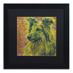 'Shetland Goldfoot' by Lowell S.V. Devin Giclée Framed Painting Print