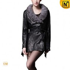 Women Designer Leather Jackets CW669073 - m.cwmalls.com