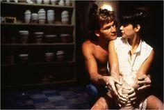 Sam Wheat (Patrick Swayze) e Molly Jensen (Demi Moore) -  Ghost  Do Outro Lado da Vida