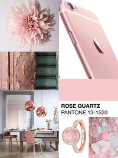 Pantone spring 2016: ROSE QUARTZ . Palette colors @nozzeedintorni