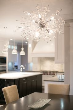 City Glam in the Country - contemporary - Kitchen - Vancouver - Lyla Veinot Designs