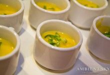butternut squash soup shots! Make for the perfect amount of tasty soup!