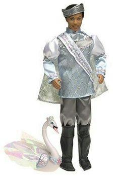 Barbie of Swan Lake: Ken as Prince Daniel (African American). barbie of swan lake ken as prince daniel african american. Ken Doll, Barbie Dolls, Prince Daniel, Barbie Movies, Black African American, Black Barbie, Swan Lake, Barbie Friends, Dollhouse Dolls