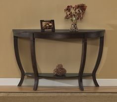 @Overstock - Complete your living room collection with this Lewis sofa table. This table features solid hardwood legs and a birch veneer top.http://www.overstock.com/Home-Garden/Lewis-Wood-Sofa-Table/2969900/product.html?CID=214117 $161.99