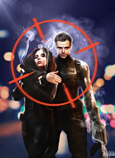 Black Widow™ ☢   Natalia Alianova Romanova   Natasha Romanoff   Natalie Rushman   deadly ballet   Winter Soldier   James Buchanan Barnes   Captain America's Sidekick   Bucky   Comrades in love   ☢