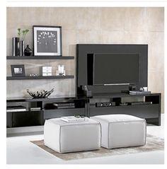 Estar e Home Cinema - Barrock Home Cinemas, Tv Unit, Room Set, Style Inspiration, Living Room, Architecture, Design, House, Furniture