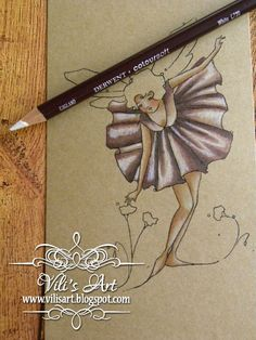 Copic Marker Europe: Colouring with Copic markers on Kraft Paper