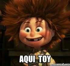No me ves? Funny Spanish Memes, Spanish Humor, Spanish Quotes, Memes Humor, Funny Images, Funny Pictures, Funny Pics, Cute Cartoon Girl, Travel Humor