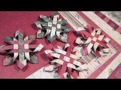 A Woven and Delicate 3D Ornament - http://www.averysowlery.com/2015/12/a-woven-and-delicate-ornament/