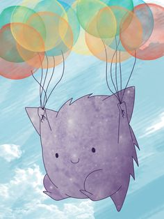 Balloon Gengar by Sorrel-san.deviantart.com on @deviantART