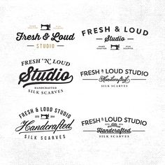 Miscellaneous - Typography, Logos, Lettering - Vol.2 on Typography Served