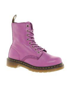 there bacckkk :) pastel purple doc martins