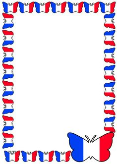 France Flag Themed Lined Paper and Pageborders.  Download the whole set for FREE at:  http://www.sharemylesson.com/teaching-resource/France-Flag-Themed-Lined-paper-and-Pageborders-50027608/