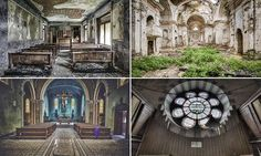 Eerie photos show abandoned churches which have been left to crumble