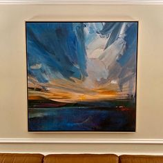 Large Cloud Abstract Art Painting,Large Abstract Painting,Sky Abstract Oil Painting on Canvas,Blue Abstract Art Canvas Painting Abstract Canvas Wall Art, Blue Abstract Painting, Large Wall Canvas, Oil Painting On Canvas, Abstract Paintings, Painting Art, Art Blue, City Art, Landscape Paintings