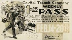 Capital Transit Weekly Pass (1937).