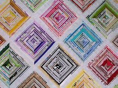 Selvage Quilt close-up   Flickr - Photo Sharing!