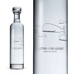 packaging design bouteille vodka