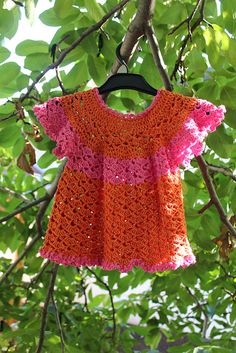 Ravelry: Forget-me-not Dress pattern by Zsuzsanna Makai $4.00