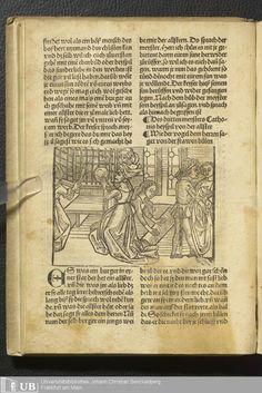 Inc. fol. 133 (Ausst. 172) - [Sammelband in 3 Teilen: Konvolut aus Inkunabeln] › Nr. 1 - Historia septem sapientium Romae, deutsch