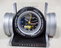 Initial D Tire Wheel Clock FD-3S RX-7 A-spec KEISUKE TAKAHASHI JAPAN ANIME
