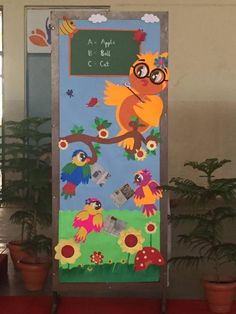 cool spring door decorations for preschoolers (1)   funnycrafts
