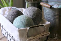 Save time and money, reduce static cling and ditch toxic fabric softeners by learning how to make wool dryer balls.